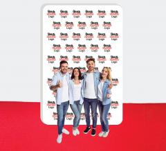 10 ft x 15 ft Step and Repeat Wall Box Fabric Display