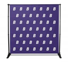 8x8 Media Wall - Step and Repeat Event Backdrops