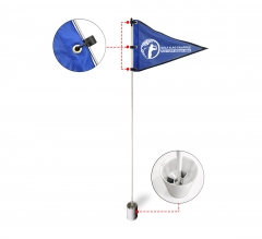Golf Flags - Triangle