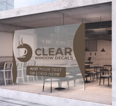 Clear Window Stickers