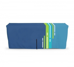 Fitted Table Covers - Zipper Back