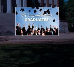 Reflective Graduation Yard Signs