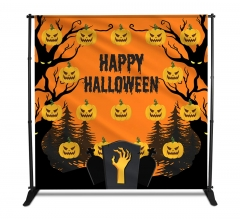Halloween Media Walls - Step and Repeat Event Backdrops