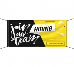 Now Hiring Banners