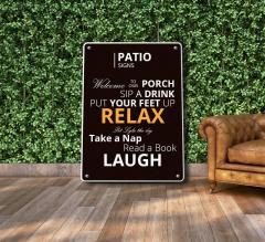 Patio Signs