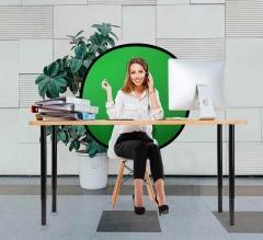 Pop Up Green Screen Webcam Backdrop