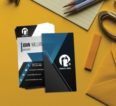 Premium Business Cards  - Vertical