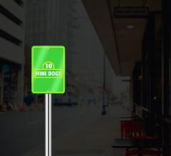 Reflective Sesame Street Signs