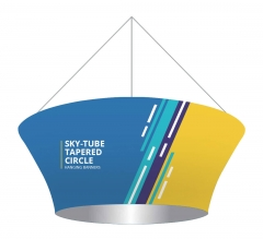 Skytube Tapered Circle Hanging Banners