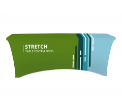 Stretch Table Covers - 4 Sided