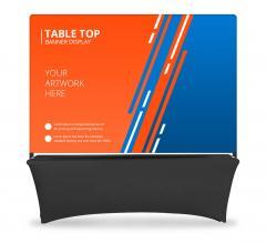 Table Top Banner - Back Wall Display