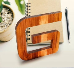 Teakwood Letters and Numbers