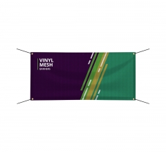 Vinyl Mesh Banners