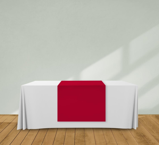 2.5' x 6' Table Runners - Red