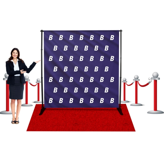8x8 Step and Repeat Banners