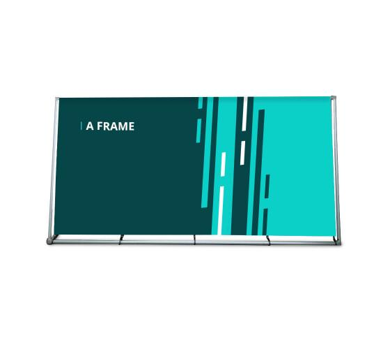A Frame Banner Stands