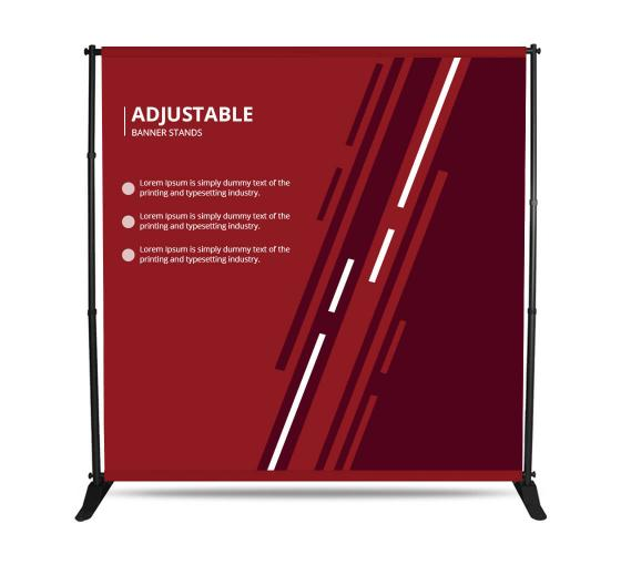 Adjustable Banner Stands
