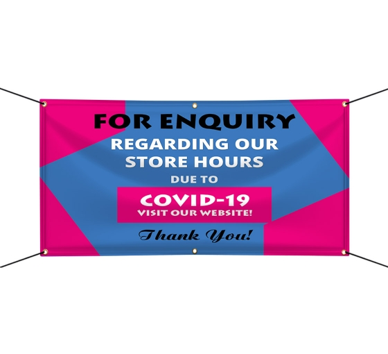 For Enquiry Visit our Website Vinyl Banners