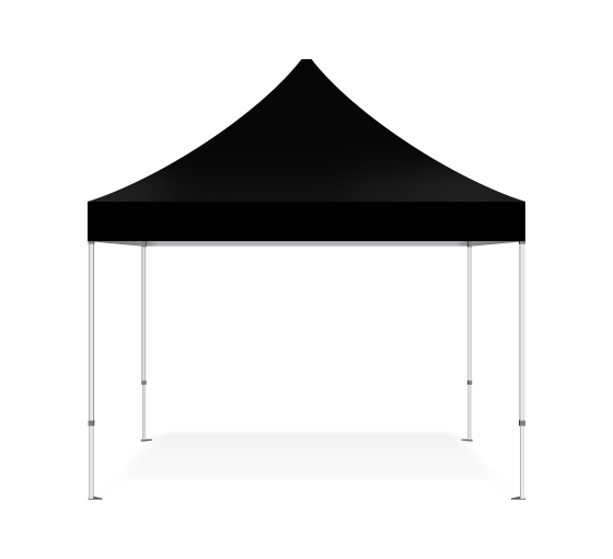Black Gazebo Marquee