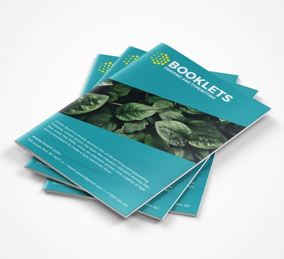 Booklets - Vertical