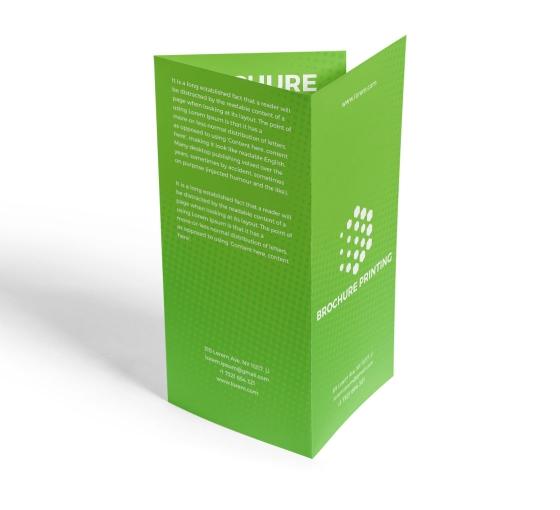 Brochure Printing - Vertical