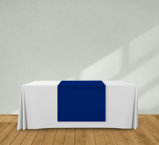 2.5' x 6' Table Runners - Blue