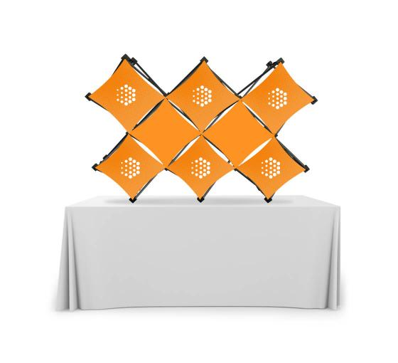 Double X Micro GeoMetrix Table Top Display