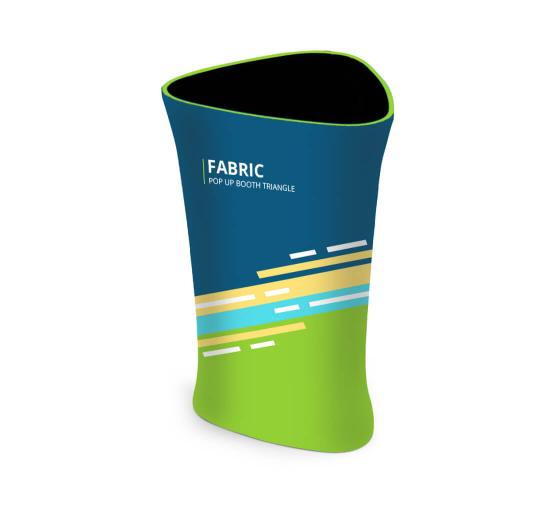 Fabric Pop Up Booth Triangle