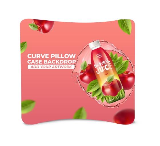 Curve Pillow Case Backdrop