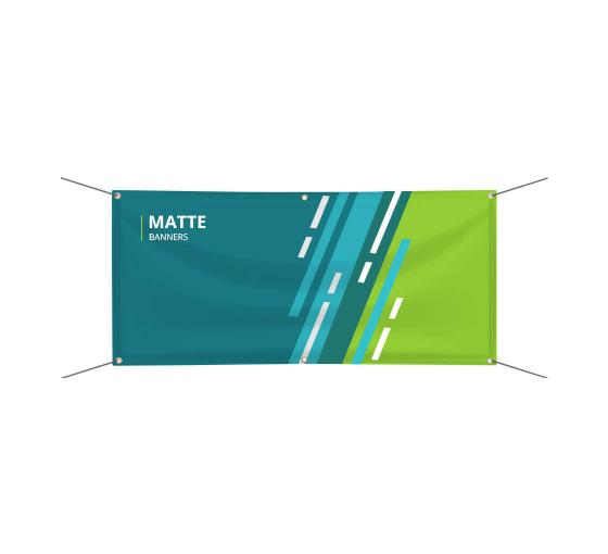 Matte Banners