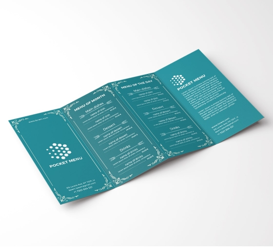 Custom Pocket Menus