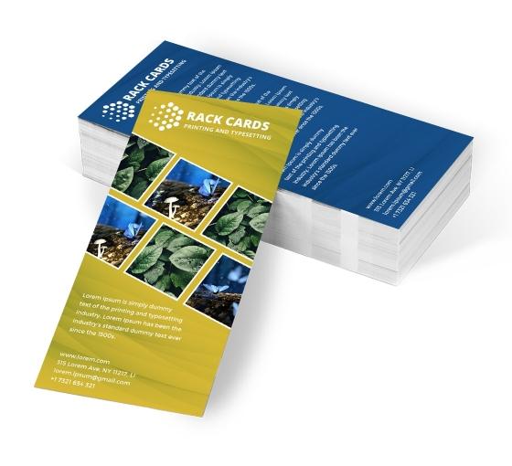 Design And Print Custom Rack Cards Online