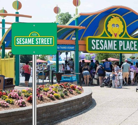Sesame Street Signs