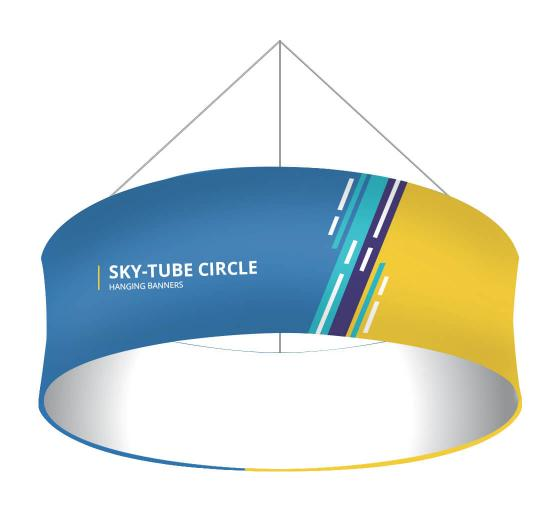 Sky Tube Circle Hanging Banners