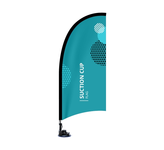 Suction Cup Flags - Blade