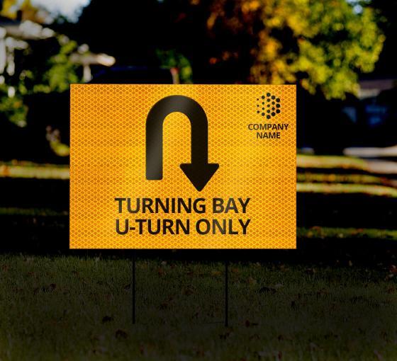 HIP Reflective Yard Signs