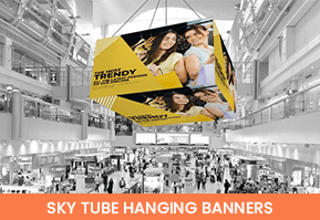 Sky tube hanging Banners